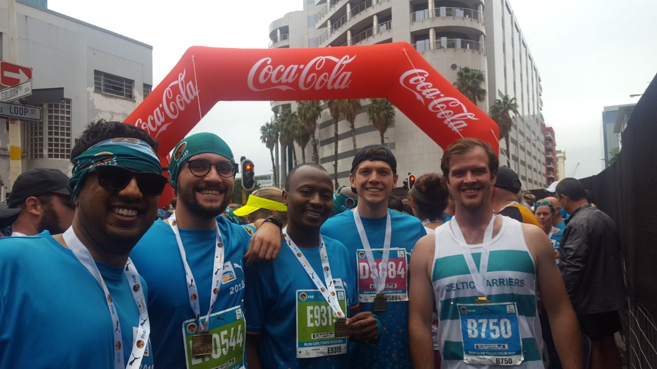 Students at the FNB12One Run